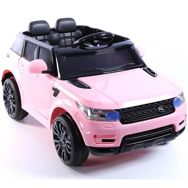 Kids Mini Range Rover HSE Sport Style 12v Electric Compact Jeep - Pink-13185