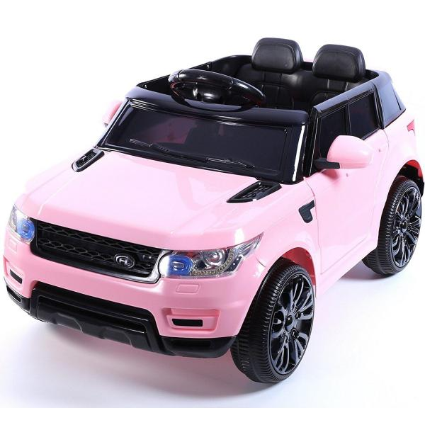 Kids Mini Range Rover HSE Sport Style 12v Electric Compact Jeep - Pink-0