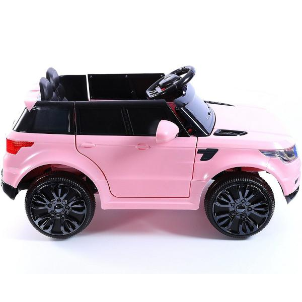 Kids Mini Range Rover HSE Sport Style 12v Electric Compact Jeep - Pink-13184