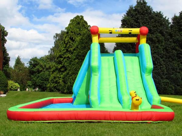 BeBop Neptune Tower Inflatable Water Park and Slide-13634
