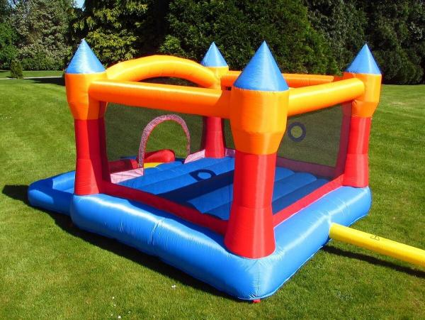 BeBop Turret Ball Pit Inflatable Bouncy Castle -13583