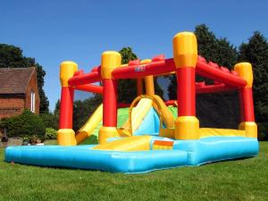 BeBop Fortress Bouncy Castle and Water SlideBeBop Fortress Bouncy Castle and Water Slide-0
