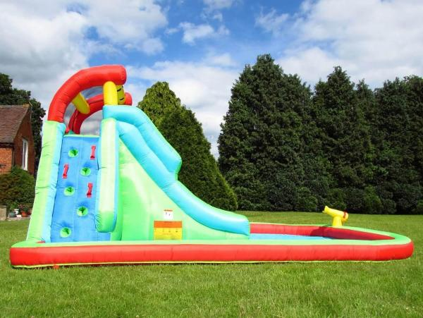 BeBop Neptune Tower Inflatable Water Park and Slide-13636
