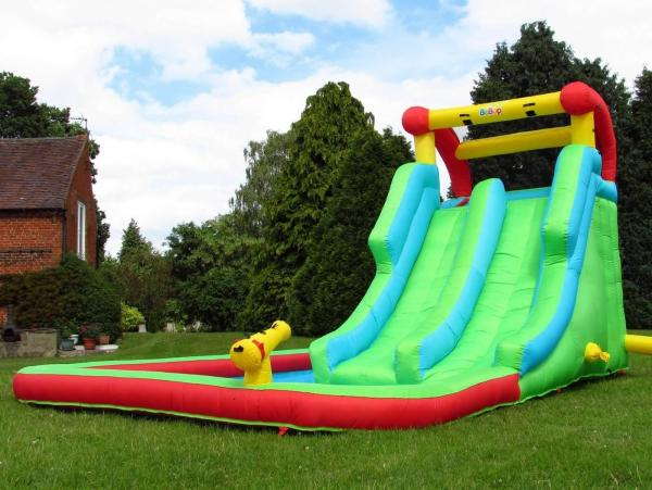 BeBop Neptune Tower Inflatable Water Park and Slide-13639
