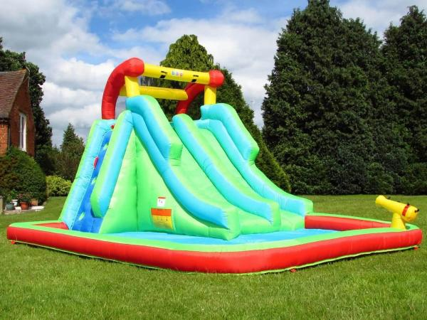 BeBop Neptune Tower Inflatable Water Park and Slide-13638