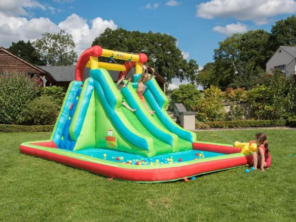 BeBop Neptune Tower Inflatable Water Park and Slide-13640
