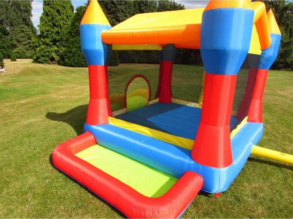 BeBop Party Inflatable Bouncy Castle and Ball Pit-13492