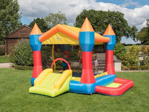 BeBop Party Inflatable Bouncy Castle and Ball Pit-13495