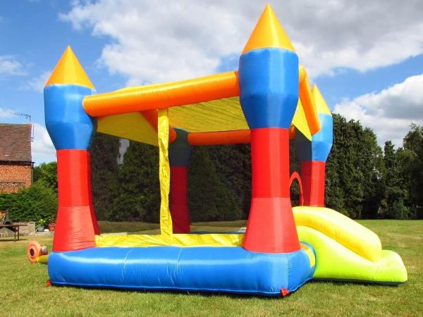 BeBop Party Inflatable Bouncy Castle and Ball Pit-13497
