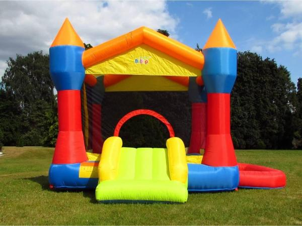 BeBop Party Inflatable Bouncy Castle and Ball Pit-13493