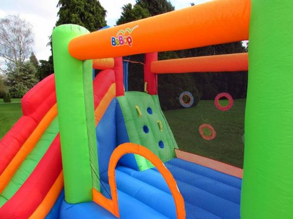 BeBop Canyon Kids Bouncy Castle and Water Slide-13522