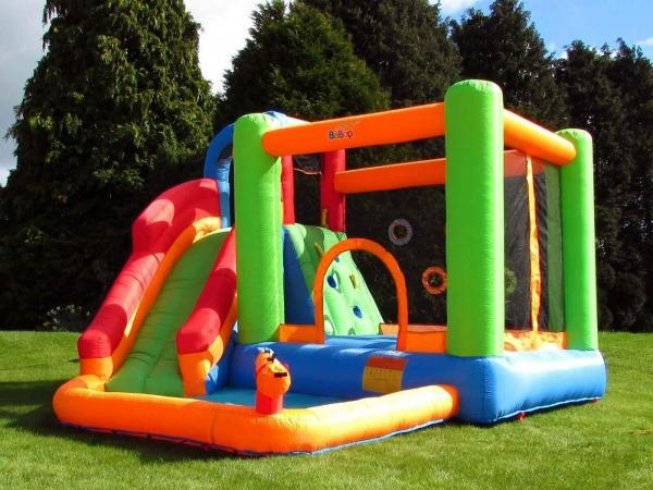 BeBop Canyon Kids Bouncy Castle and Water Slide-13525