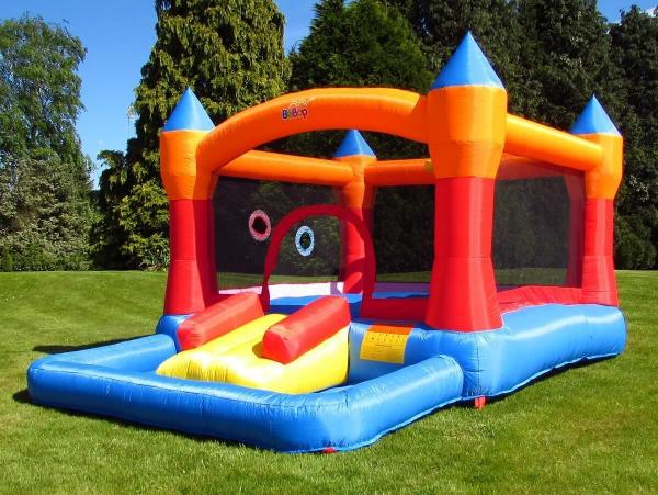 BeBop Turret Ball Pit Inflatable Bouncy Castle -0