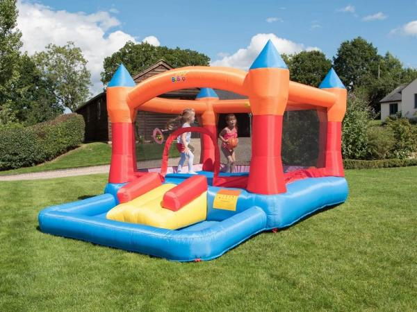 BeBop Turret Ball Pit Inflatable Bouncy Castle -13579