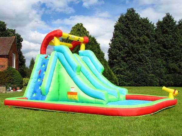 BeBop Neptune Tower Inflatable Water Park and Slide-0