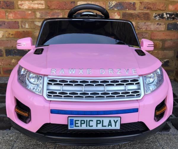 Kids My first Range Rover HSE Sport Style 12v Electric Ride on car - Pink-13806