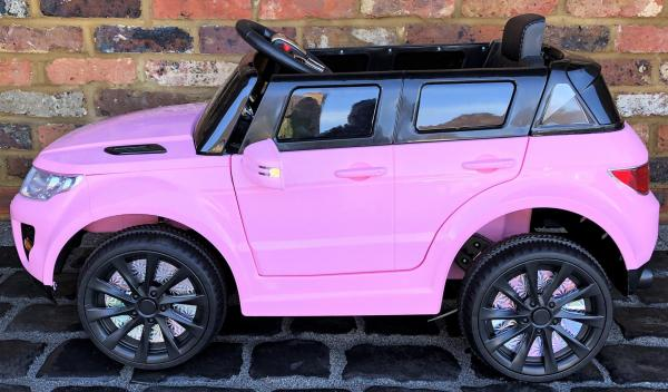 Kids My first Range Rover HSE Sport Style 12v Electric Ride on car - Pink-13804