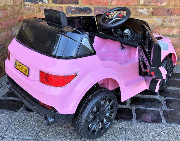 Kids My first Range Rover HSE Sport Style 12v Electric Ride on car - Pink-13802