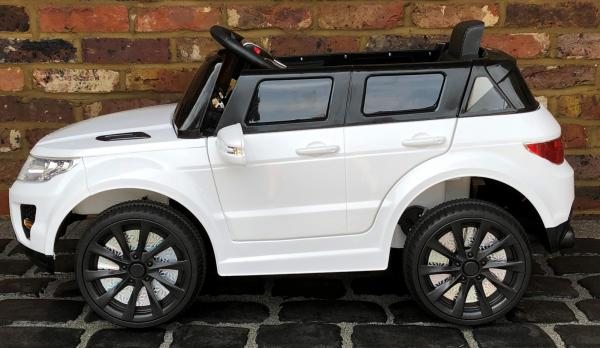 Kids My first Range Rover HSE Sport Style 12v Electric Ride on car - White-13876