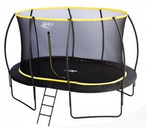 Telstar Orbit 7ft x 10ft Oval Trampoline and Enclosure Package-0