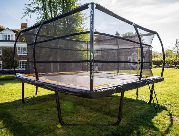 Telstar Elite 12ft x 12ft Square Trampoline and Enclosure Package with Ladder-13894