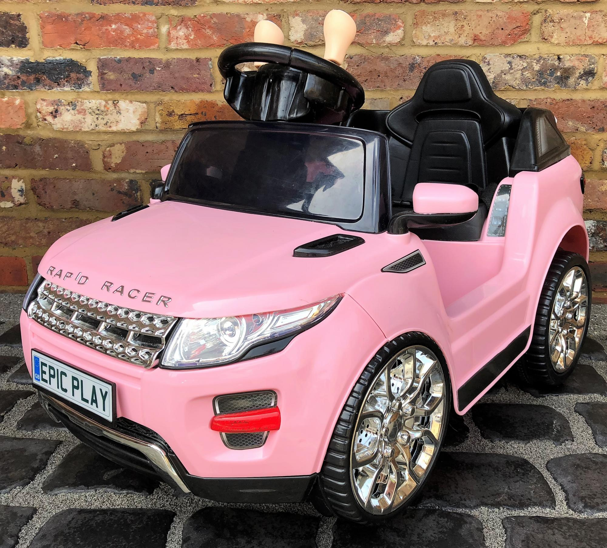 Kids Range Rover Evoque Style 6v Electric Ride On Car Pink
