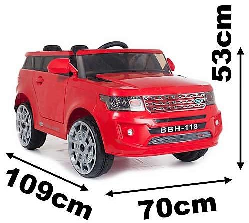 Kids Range Rover Vogue Sport Style Off Roader 4x4 12v Electric / Battery Ride On Car White-14065
