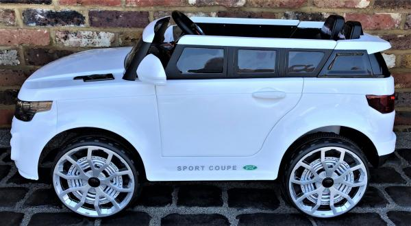 Kids Range Rover Vogue Sport Style Off Roader 4x4 12v Electric / Battery Ride On Car White-14429