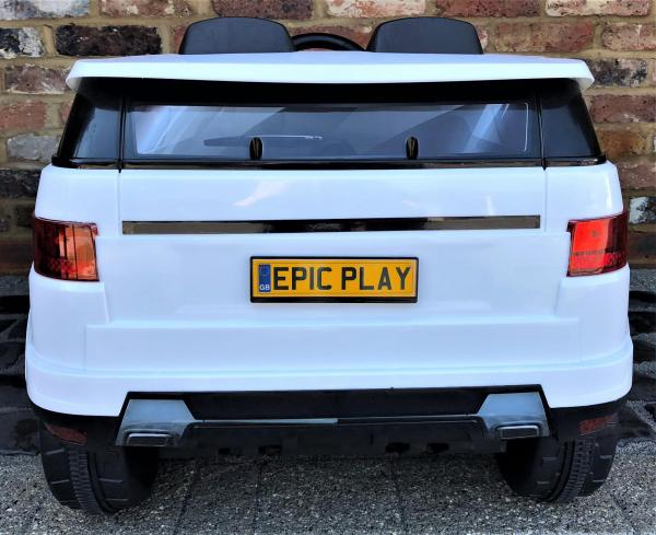 Kids Range Rover Vogue Sport Style Off Roader 4x4 12v Electric / Battery Ride On Car White-14427