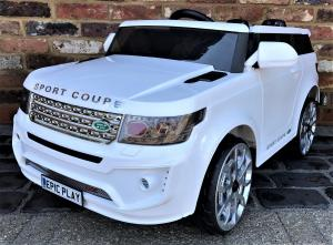 Kids Range Rover Vogue Sport Style Off Roader 4x4 12v Electric / Battery Ride On Car WhiteKids Range Rover Vogue Sport Style Off Roader 4x4 12v Electric / Battery Ride On Car White-0
