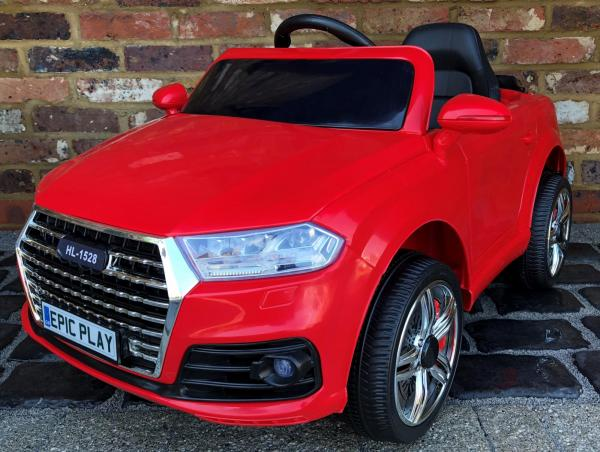 Audi Q5 / Q7 Style Car 12v Battery / Electric Ride on Car Red-14414