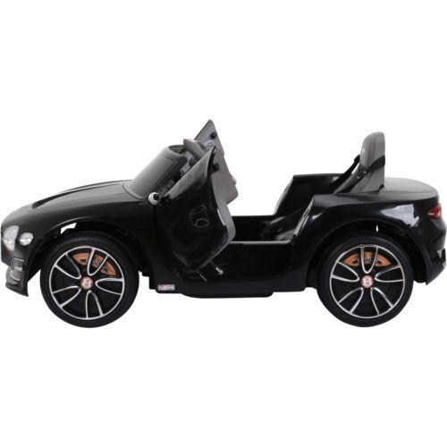 Licensed Bentley EXP12 12v Ride On Children's Battery Operated Electric Car - Black-14186