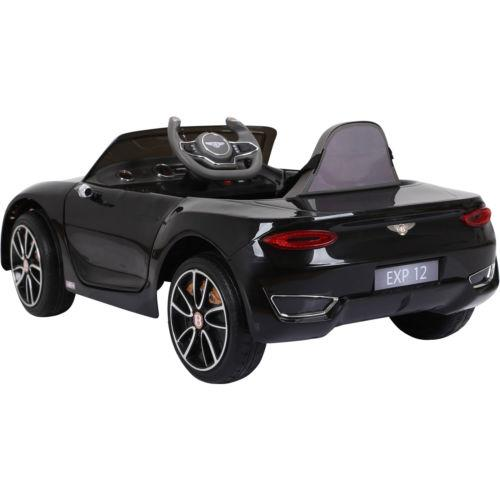 Licensed Bentley EXP12 12v Ride On Children's Battery Operated Electric Car - Black-14183