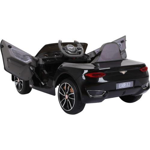 Licensed Bentley EXP12 12v Ride On Children's Battery Operated Electric Car - Black-14185