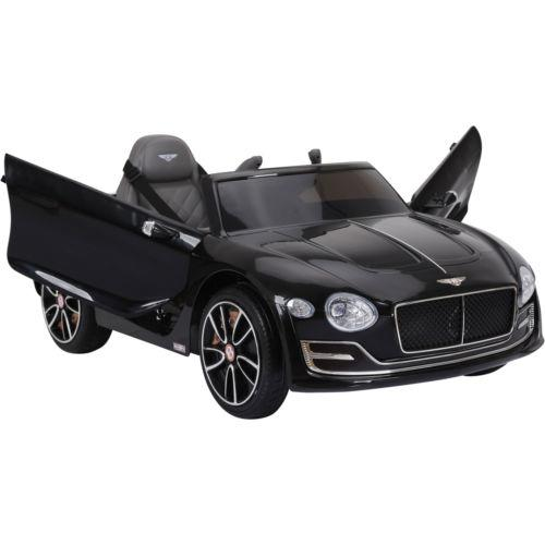 Licensed Bentley EXP12 12v Ride On Children's Battery Operated Electric Car - Black-14188