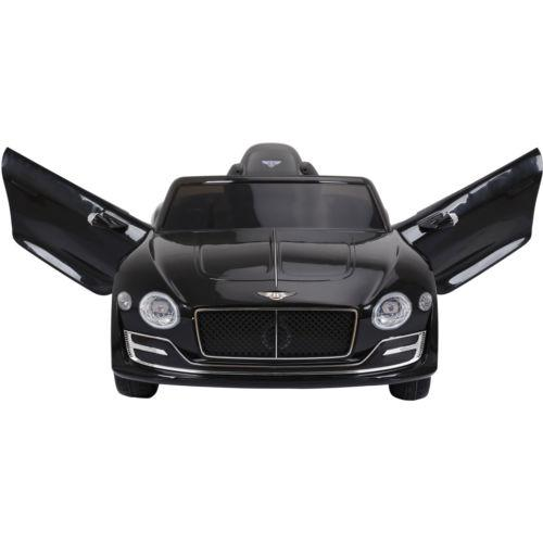 Licensed Bentley EXP12 12v Ride On Children's Battery Operated Electric Car - Black-14184