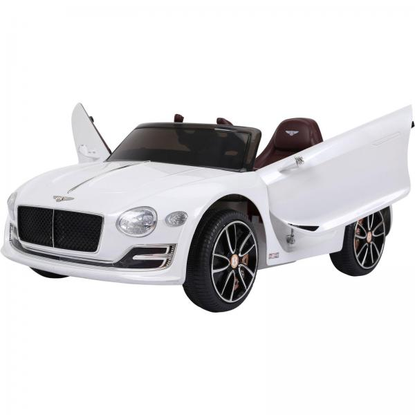 Licensed Bentley EXP12 12v Ride On Children's Battery Operated Electric Car - White-14180