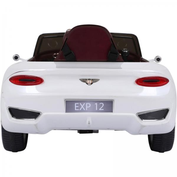 Licensed Bentley EXP12 12v Ride On Children's Battery Operated Electric Car - White-14177