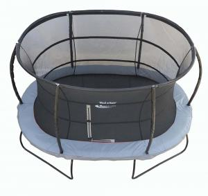 Telstar Jump Capsule Deluxe MK 3 7ft x 10ft Oval Trampoline and Enclosure Package -0