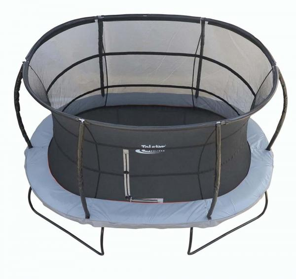 Telstar Jump Capsule Deluxe MK 3 - 9ft x 13ft Oval Trampoline and Enclosure Package -13977