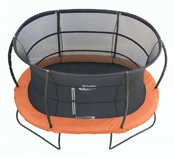 Telstar Jump Capsule Deluxe MK 3 7ft x 10ft Oval Trampoline and Enclosure Package -13957