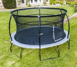 Telstar Jump Capsule Deluxe MK 3 14ft Round Trampoline and EnclosureTelstar Jump Capsule Deluxe MK 3 14ft Round Trampoline and Enclosure Package -0