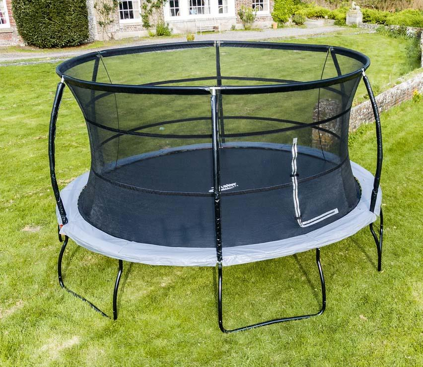 Telstar Jump Capsule Deluxe MK 3 14ft Round Trampoline and Enclosure