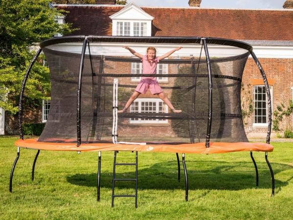 Telstar Jump Capsule Deluxe MK 3 7ft x 10ft Oval Trampoline and Enclosure Package -13948
