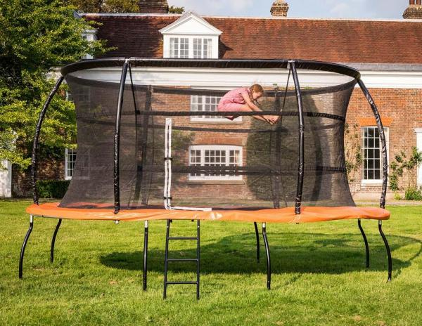 Telstar Jump Capsule Deluxe MK 3 - 9ft x 13ft Oval Trampoline and Enclosure Package -13970