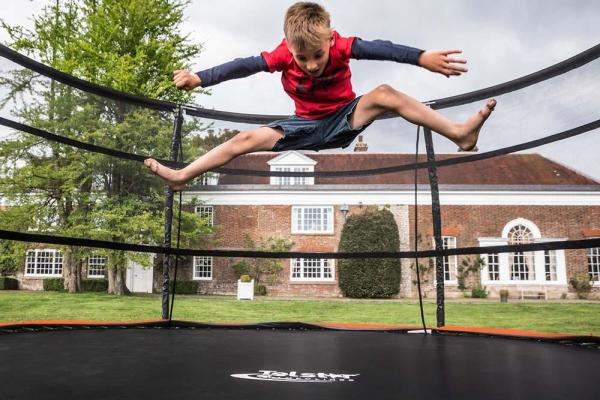Telstar Jump Capsule Deluxe MK 3 14ft Round Trampoline and Enclosure Package -14034