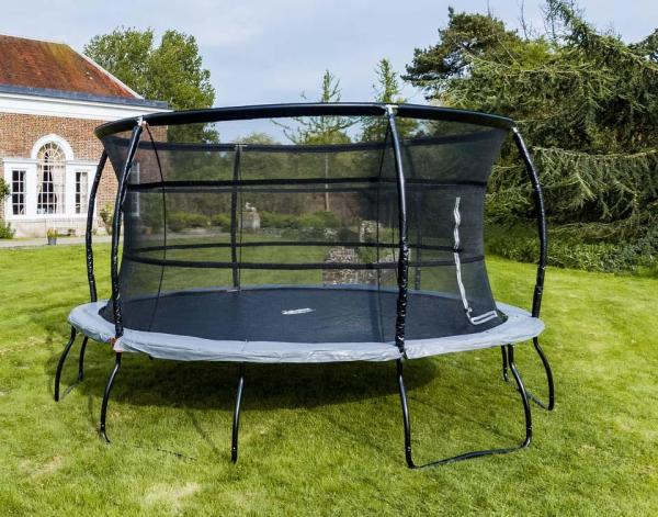 Telstar Jump Capsule Deluxe MK 3 14ft Round Trampoline and Enclosure Package -14027