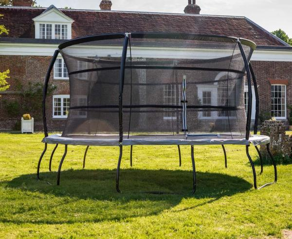 Telstar Jump Capsule Deluxe MK 3 14ft Round Trampoline and Enclosure Package -14038