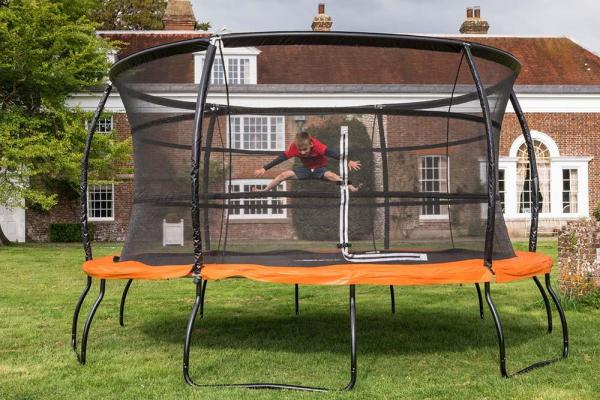 Telstar Jump Capsule Deluxe MK 3 14ft Round Trampoline and Enclosure Package -14039