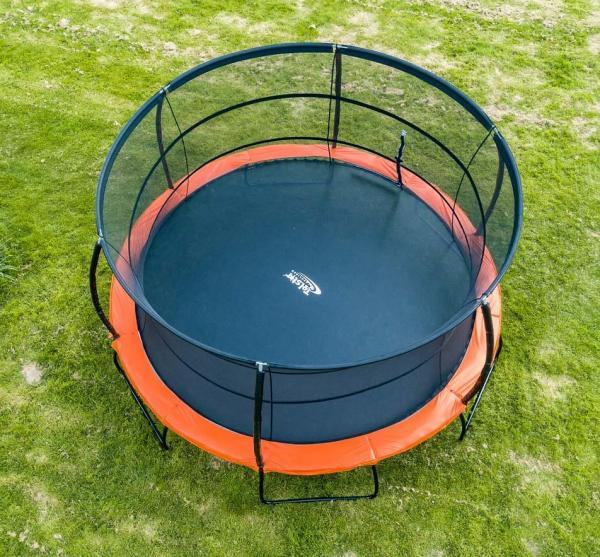 Telstar Jump Capsule Deluxe MK 3 14ft Round Trampoline and Enclosure Package -14044